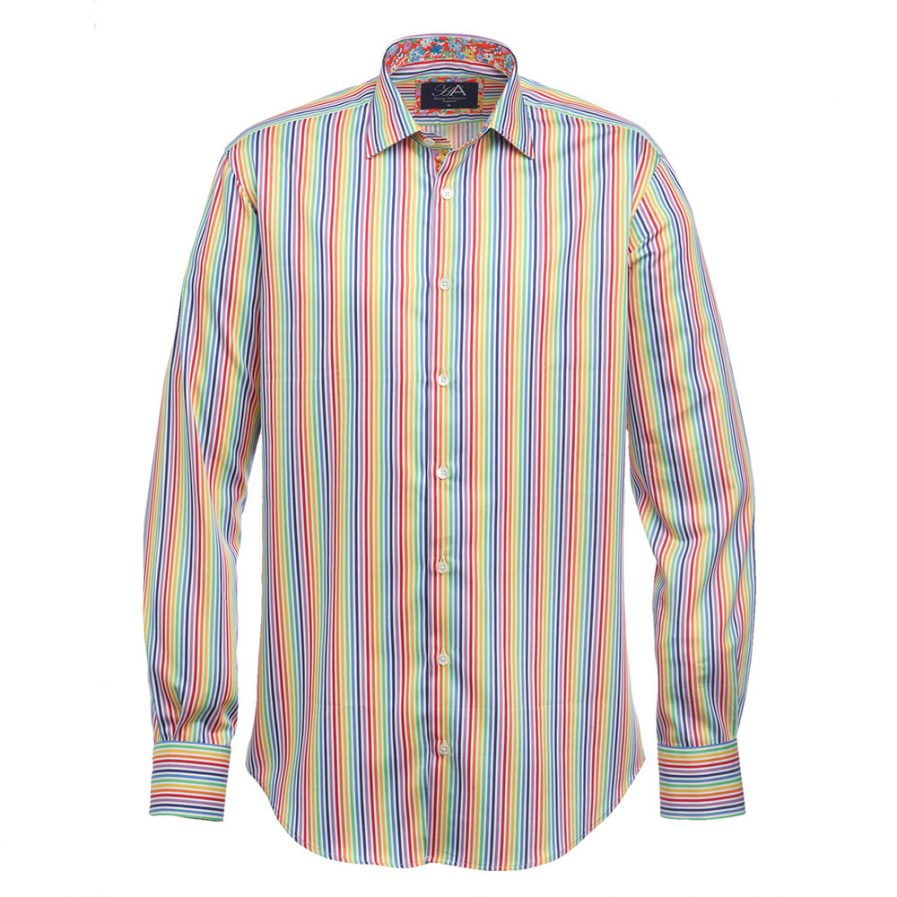 Henry Arlington Multi Stripe Men's Shirt