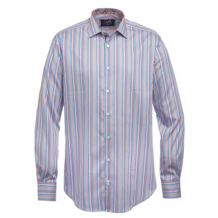 Henry Arlington Red Stripe Men's Shirt