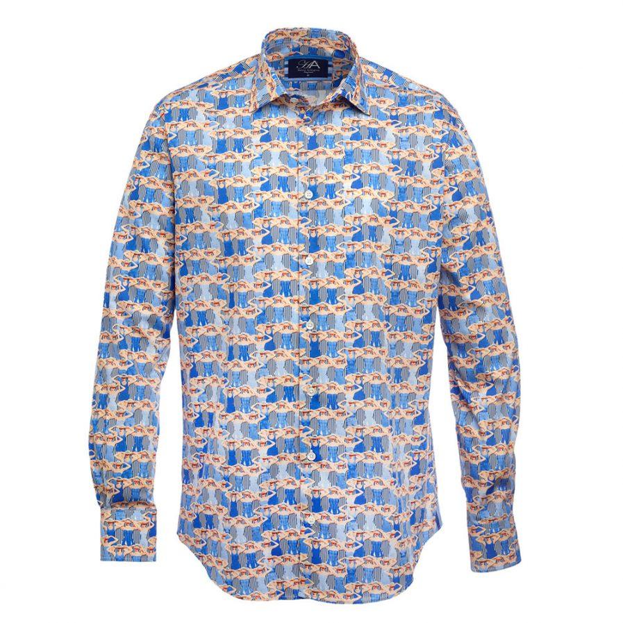 Selwyn Royal Men's Printed Shirt