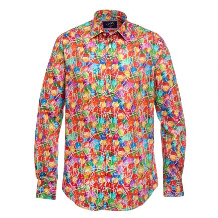Henry Arlington Telly Multi Printed Men's Shirt