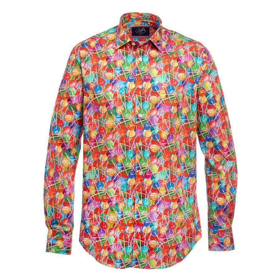 Henry Arlington Telly Multi Printed Men's Shirt