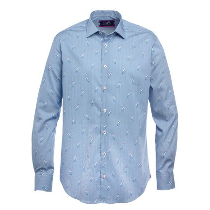 Toulon Royal Men's Printed Shirt