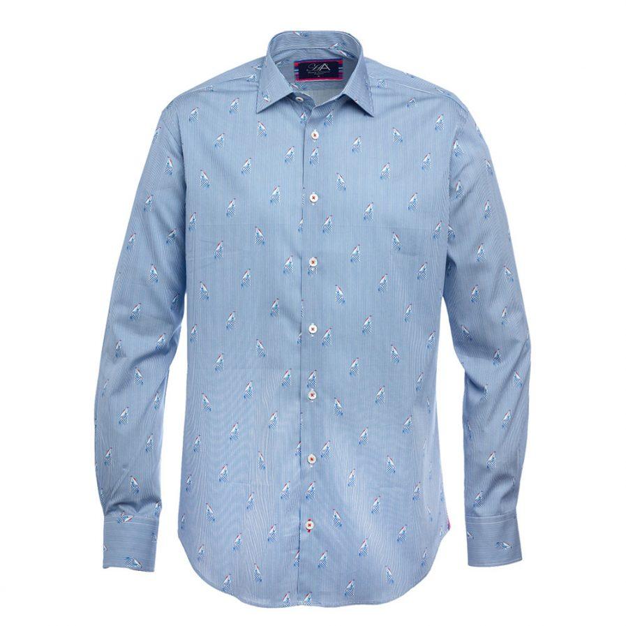 Toulon Royal Men's Printed Shirt
