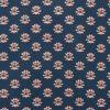 Henry Arlington Men's Blue and Orange Print Shirt