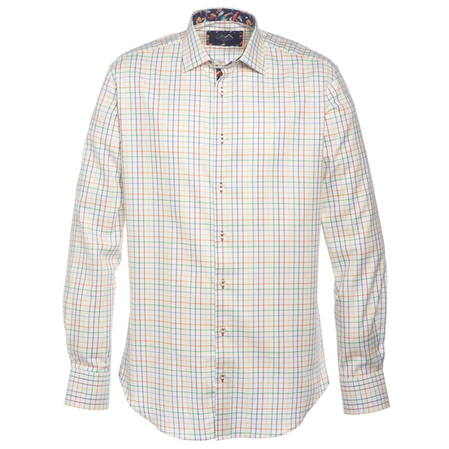 Henry Arlington Men's Brushed Cotton Check Shirt