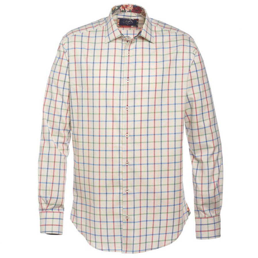 Henry Arlington Men's Brushed Cotton Check Shirt