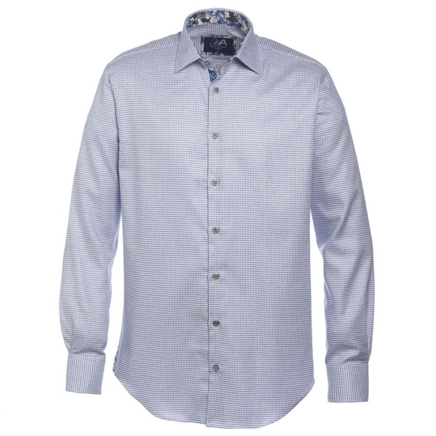 Henry Arlington Men's Blue Check Shirt