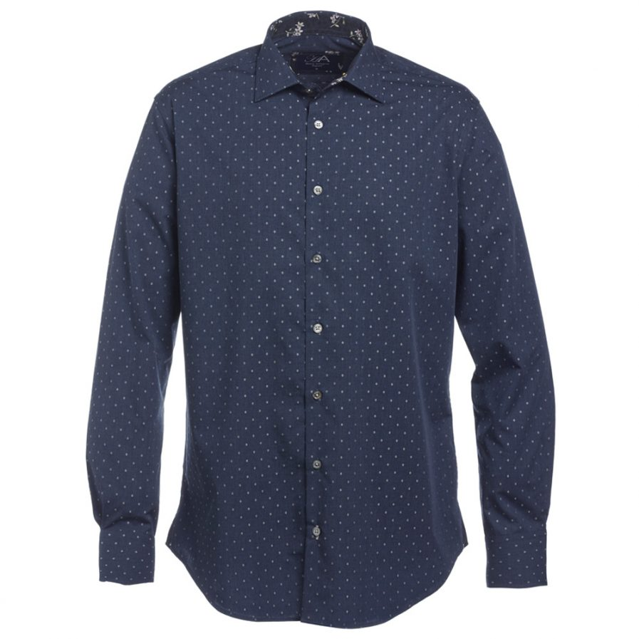 Henry Arlington Men's Blue Shirt