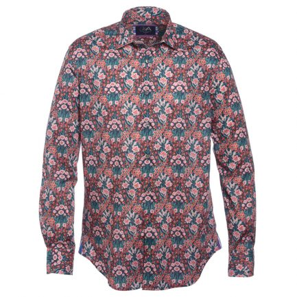 Henry Arlington Men's Floral Print Shirt
