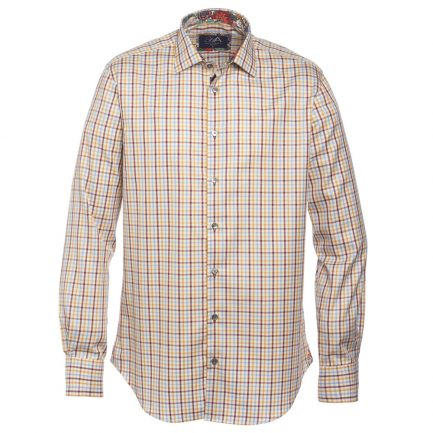 Henry Arlington Men's Cotton Check Shirt