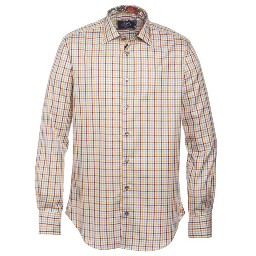 Henry Arlington Men's Cotton Check Shirt