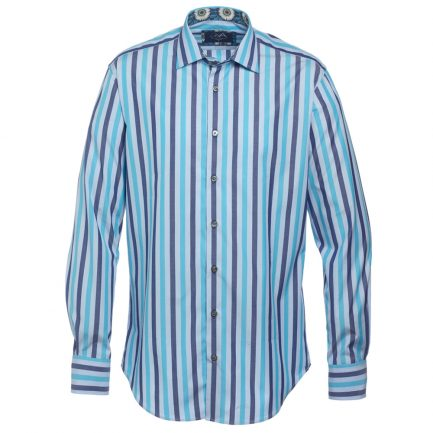 Henry Arlington Block Stripe Men's Shirt