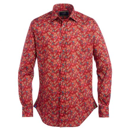 Henry Arlington Men's Floral Liberty Print Shirt
