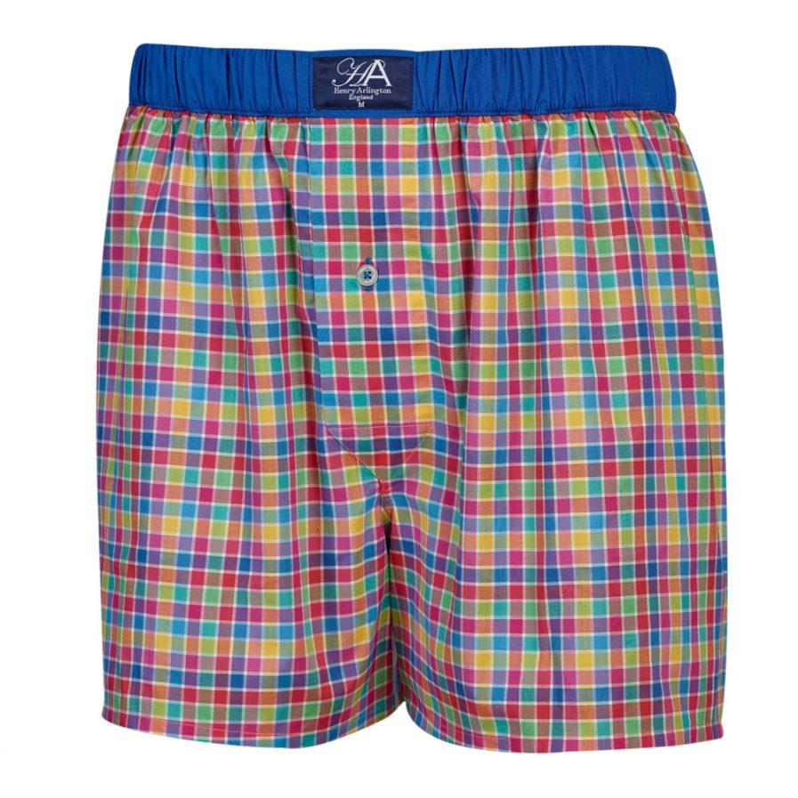 Henry Arlington Multi Colour Boxer Shorts