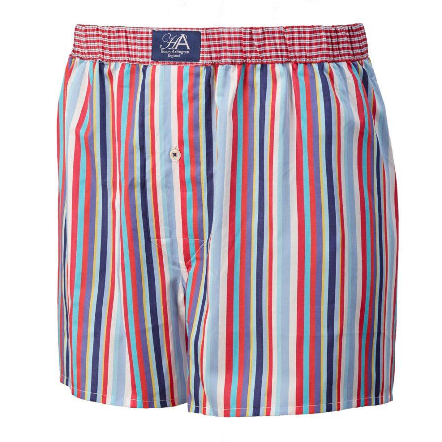 Henry Arlington Stripe Boxer Shorts