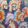Henry Arlington Men's Skull Print Shirt