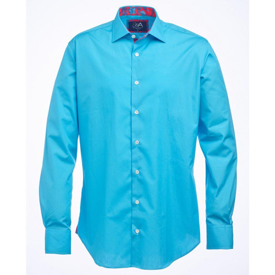 Henry Arlington Men's Aqua Shirt