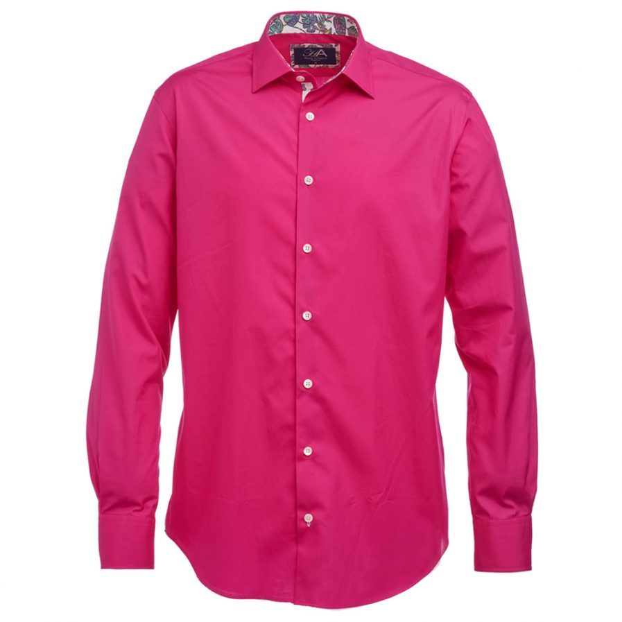 Henry Arlington Men's Hot Pink Shirt