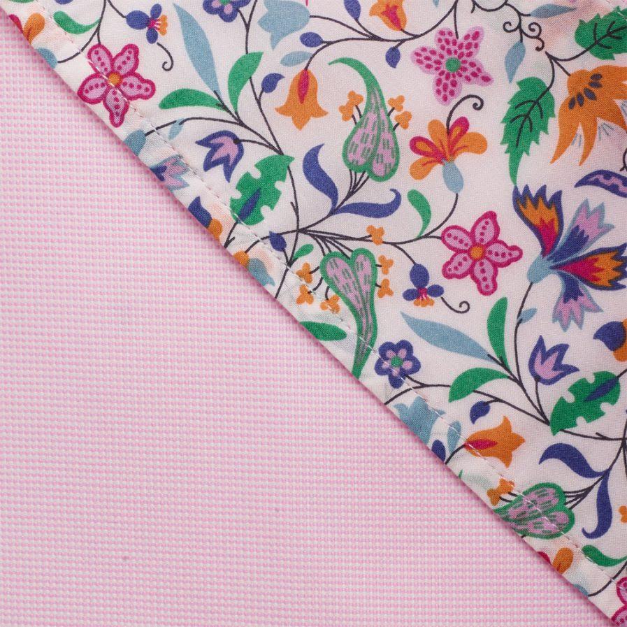 Henry Arlington Men's Pink Basket Weave Shirt