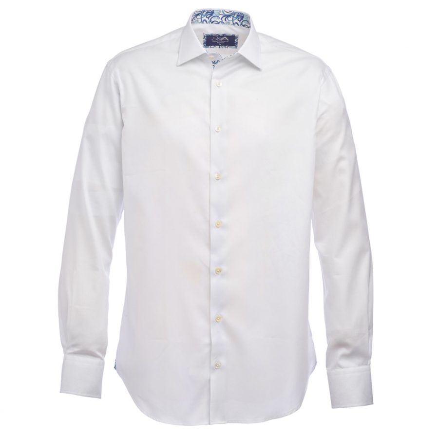 Henry Arlington White Royal Oxford Shirt
