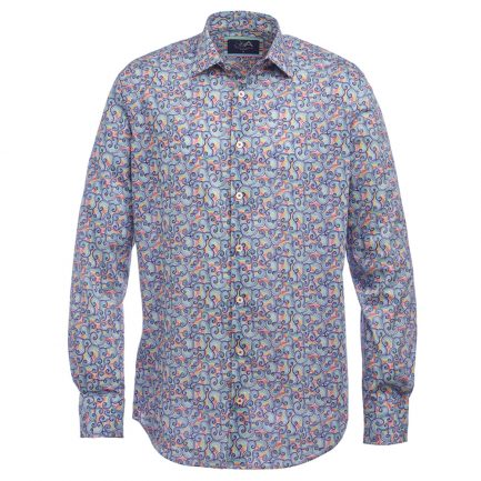 Henry Arlington Men's Liberty Print Shirt