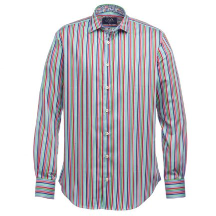 Henry Arlington Men's Multicoloured Stripe Shirts