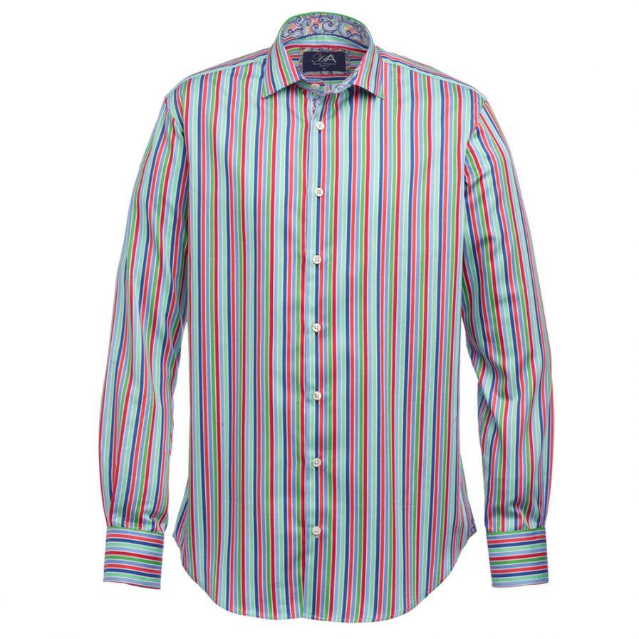 Henry Arlington Men's Multicoloured Stripe Shirts