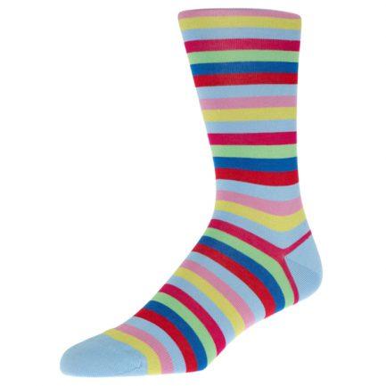 Helford Sky Stripe Socks