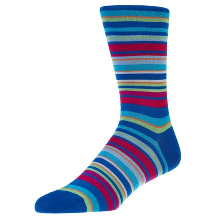 Navai Lime Stripe Socks