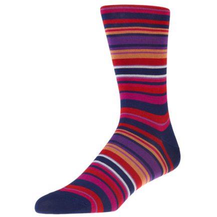Navai Navy Stripe Socks