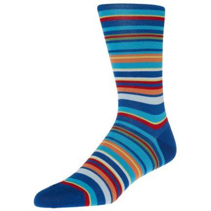 Navai Sapphire Stripe Socks