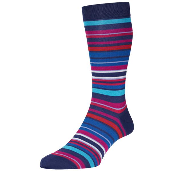 Navai Royal Stripe Socks